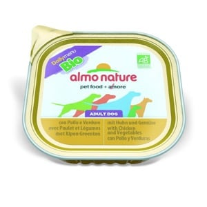 Almo Nature Chien Adult Daily Menu Bio Poulet Légumes