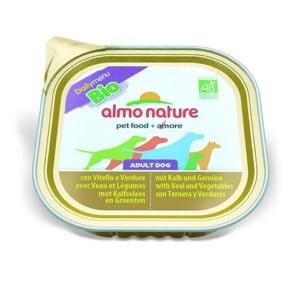 Almo Nature Chien Adult Daily Menu Bio Veau Légumes