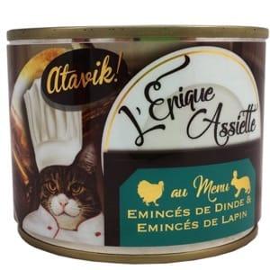Atavik! L'Épique Assiette Dinde-Lapin