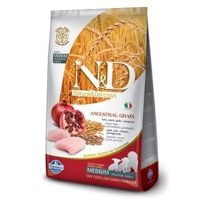 Farmina N&D Low Grain Poulet & Grenade Chiot Medium
