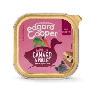 Edgard Cooper Barquette Canard et Poulet