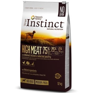 True Instinct Chien High Meat Medium/Maxi Adult