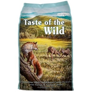 Taste of the Wild Appalachian Valley Chien Small Breed Adult