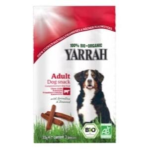 Yarrah Bâtonnet à mâcher pour chien au bœuf