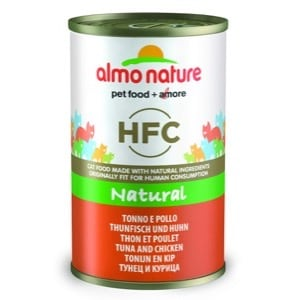 Almo Nature Chat HFC Natural Thon et poulet