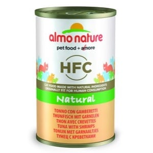 Almo Nature HFC Natural Chat Thon et Crevettes