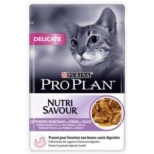 Pro Plan Nutrisavour Chat Delicate Dinde
