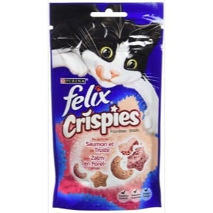 Félix Crispies Friandises Saumon et Truite