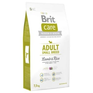 Brit Care Chien Adult Small Breed Agneau Riz
